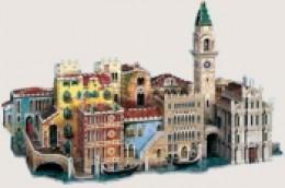 City of Venice 3-D Puzzle