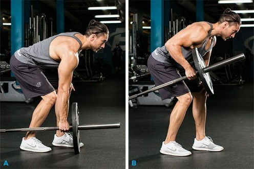 Bent-Over Row Variation