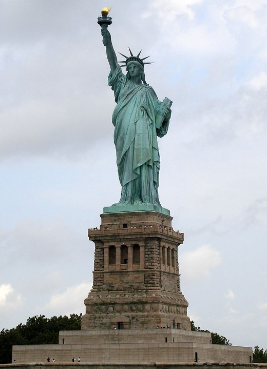 The Statue Of Liberty welcomes all!