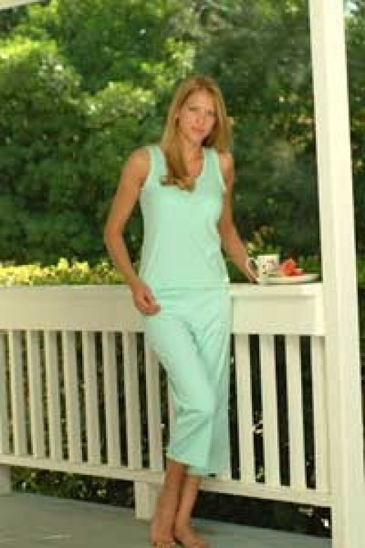 Comfortable and stylish, cotton women's pajamas are extremely popular.