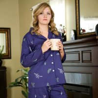 Women's pajamas are perfect for lounging around the house!