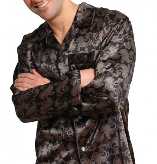 Elegant silk pajamas for men are the ultimate sleepwear!