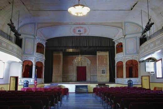 Piper Opera House stage