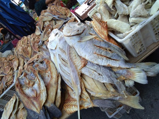 Dried fish can be found here just like we have in Philippines