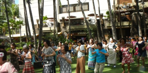 Hula Classes Fun!