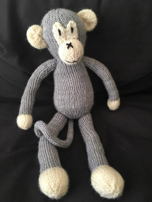Kids love monkeys. You will not go wrong knitting this adorable guy.