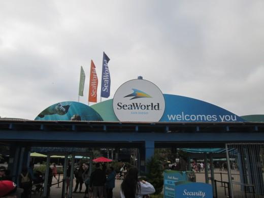 Entrance, Sea World San Diego