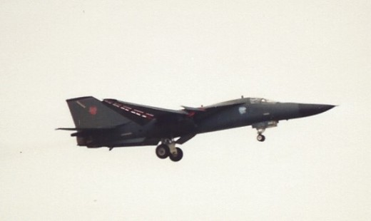 An F-111 at Andrews AFB, MD.