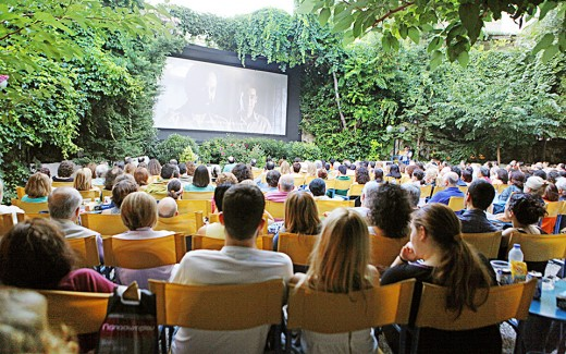 Thision Open-Air Cinema Athens