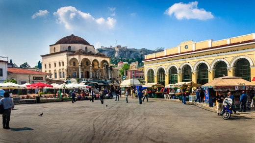 Kolonaki Square Athens