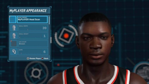 2K18 at the time had the best face scan I ever did