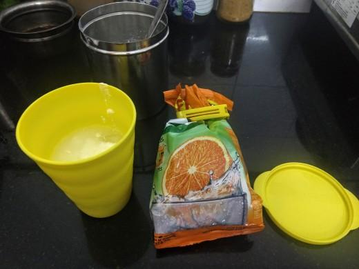 Tang Orange Lassi