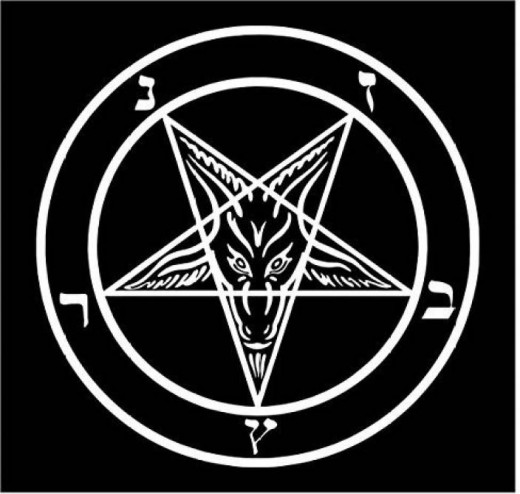 The Pentacle Of Baphomet used by Satanic Occultists & Free Masonry!