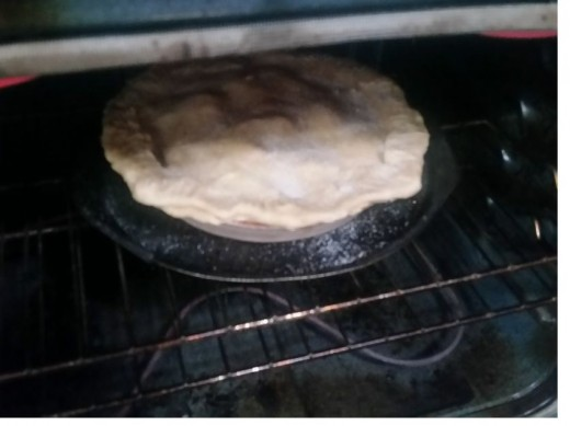 Bake 350 one hour and 20 minutes
