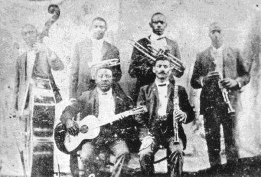 The Bolden Band around 1905