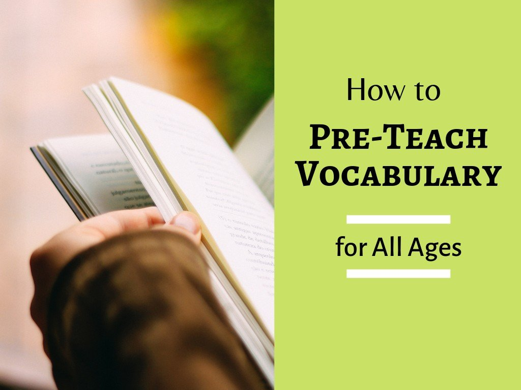How to Best Pre-Teach Vocabulary to English Language Students