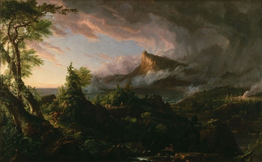 The Savage State by Thomas Cole