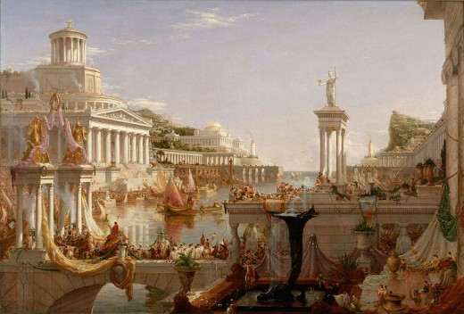 The Consummation by Thomas Cole