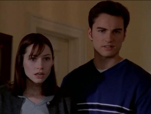 Meredith Monroe (Andie) & Kerr Smith (Jack).