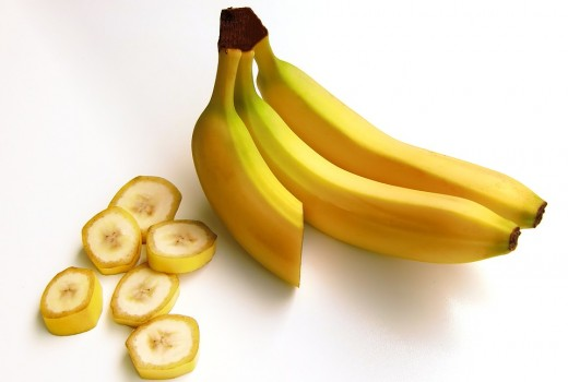 Bananas are excellent fruits to serve up on a road trip.
