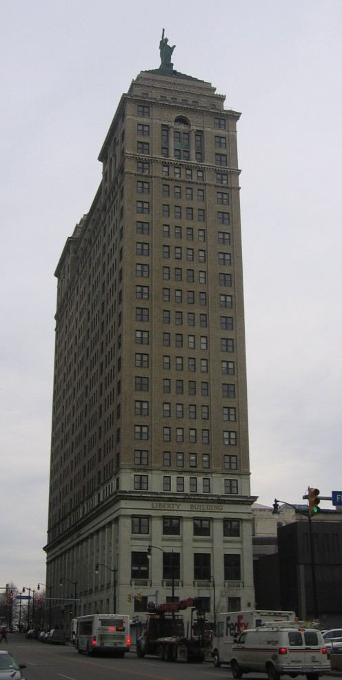 Liberty Building in Buffalo, New York
