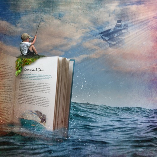 A good book can take you places.