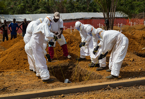 The sad outcome for many Ebola patients.