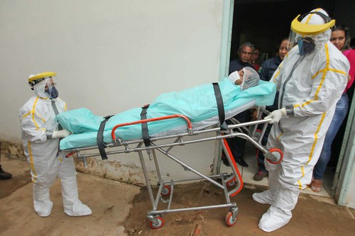 Extreme protective measures must be taken by those working with Ebola patients.