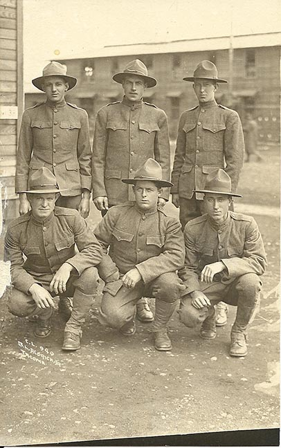 An army photo of one of my ancestors from 1927.  Before