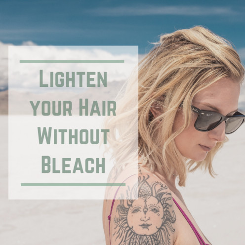 How to Get  Blonde Hair Without Using Bleach