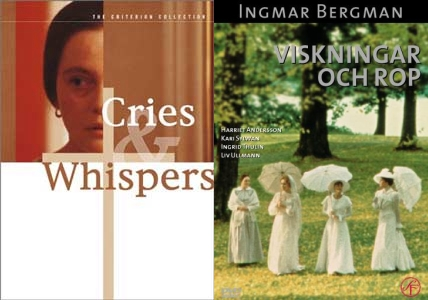 Cries and Whispers Viskningar och rop movie 1972
