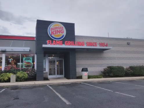 The Burger King located in Aberdeen, Maryland.