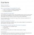 My Long Term Goal System