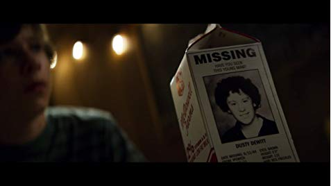 Davey Armstrong (Graham Verchere) tries to convince his friends that he saw this missing boy in his neighbor's house