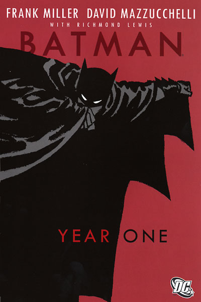 Batman: Year One graphic novel cover.
