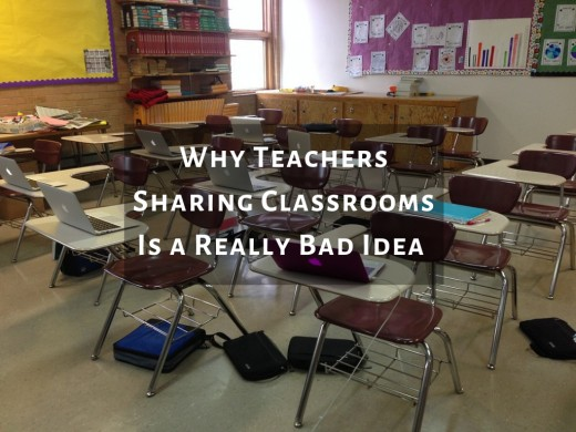 Classroom sharing creates unnecessary stress for teachers and students.