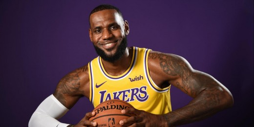 Los Angeles Lakers Small Forward LeBron James