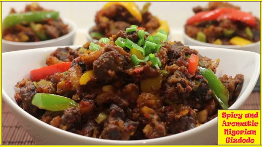 A mouth-watering serving of the spicy and aromatic Gizdodo