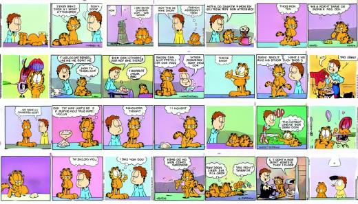 GAN-generated Garfield strips