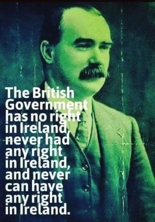 Connolly was a Marxist-Leninist by word & deed