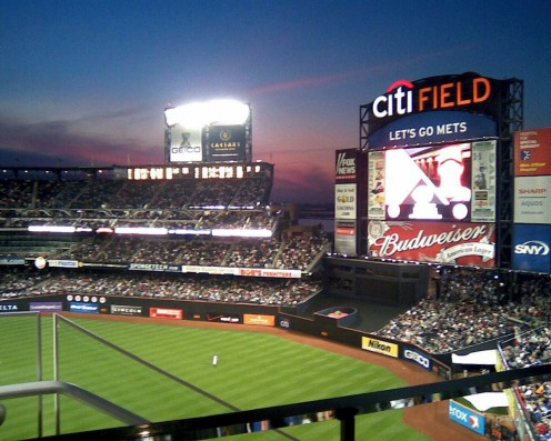 Citi Field, home of the New York Mets.