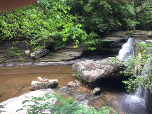Greeter Falls Upper