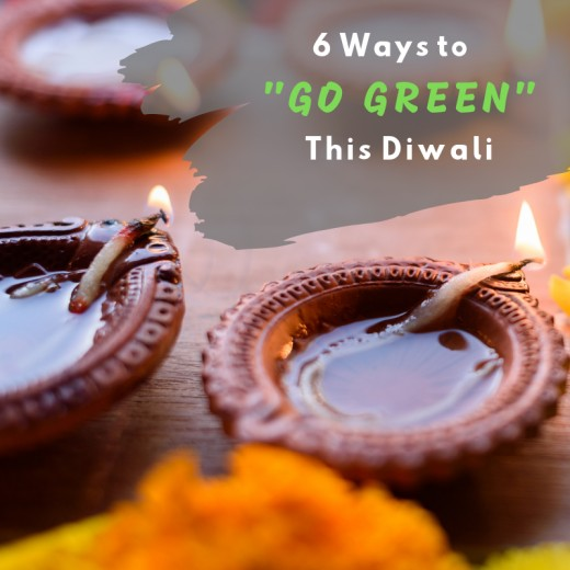 Celebrating Diwali doesn't have to involve excessive waste, noise, and pollution.