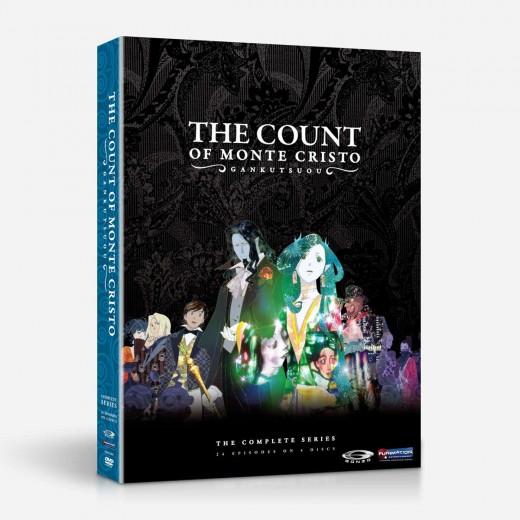 Gankusuou: The Count of Monte Cristo (2004) DVD cover.