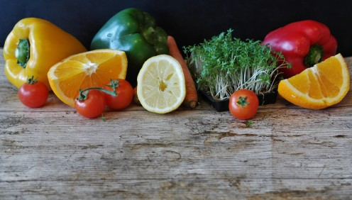 All vegetables and fruits are high in vitamins, minerals and nutrients.