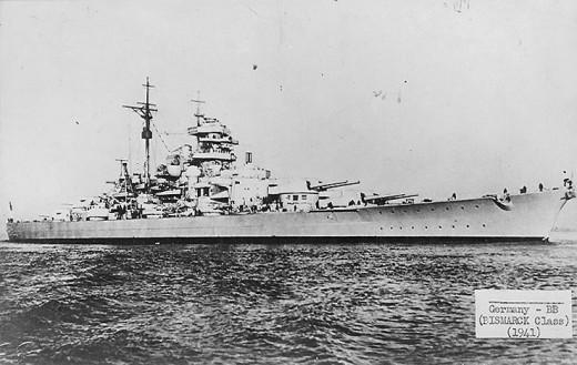 The Battleship Bismark