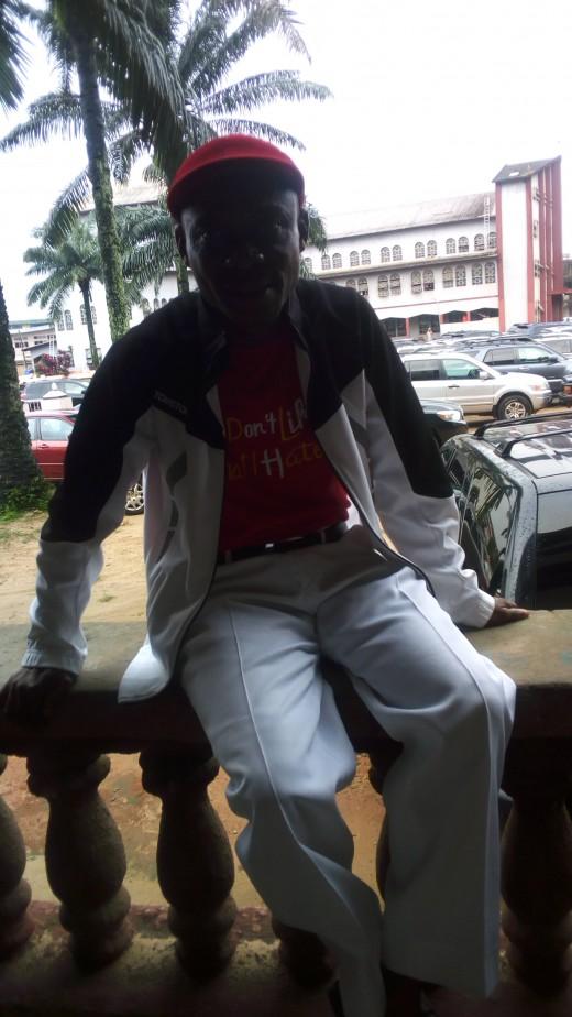 Fr. Ken Evurulobi, President of Indigenous Confederates of Nigeria for Authentic Nationhood (ICNAN)