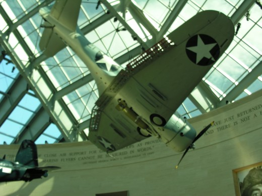 Inside The Marine Corps Museum
