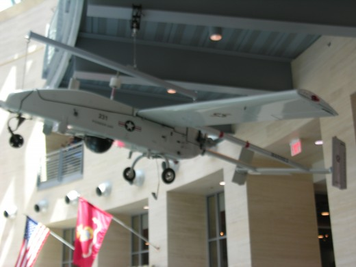 A drone at the Marine Corps Museum