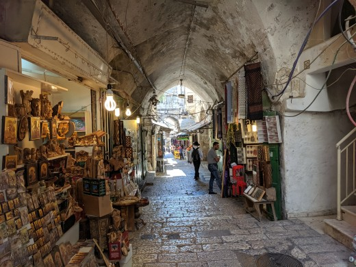 The Old City of Jerusalem is divided into a Jewish Quarter, a Muslim Quarter, a Christian Quarter, and an Armenian Quarter.